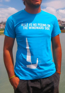 "Rule #3 ""No Peeing On The Windard Side"" T-shirt"